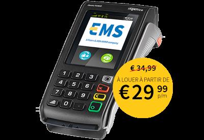Terminaux de paiement fixes sans contact EMS