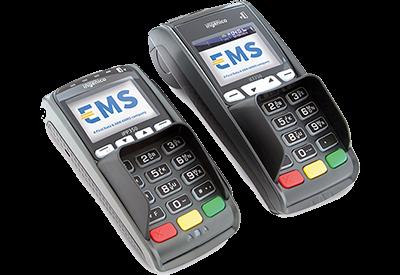 Terminal de paiement sans contact EMS iCT250 - iPP350