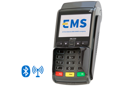 EMS contactloze betaalterminal iWL250 BT GPRS