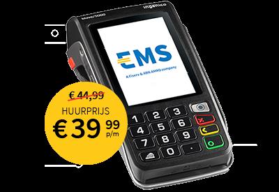 EMS contactloze mobiele betaalterminal