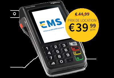 Terminal mobile de paiement sans contact EMS