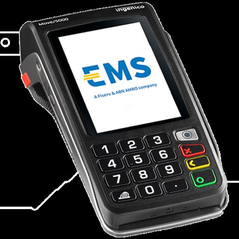 Ingenico Move 5000 contactloze mobiele betaalterminal