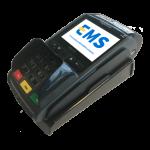 iWL250 mobiele GPRS betaalterminal met base unit op elkaar