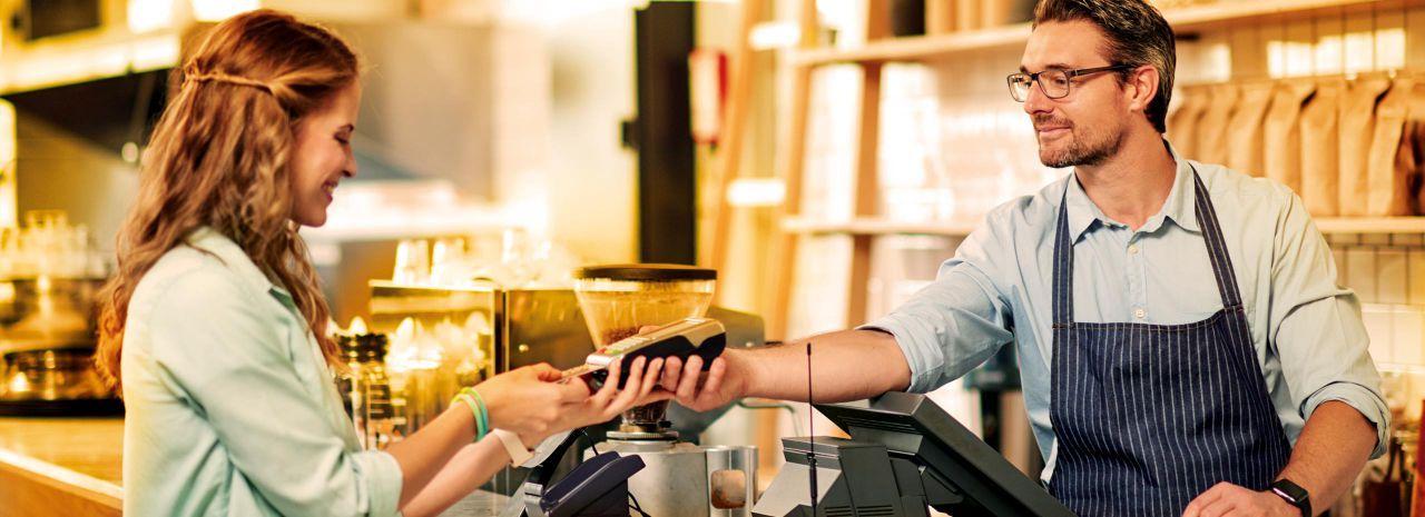 EMS betaalterminal voor uw winkel